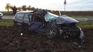 dopravní nehoda - Brázdim - 1.11.2016
